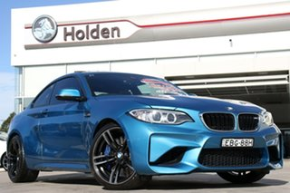 2016 BMW M2 F87 D-CT Long Beach Blue 7 Speed Sports Automatic Dual Clutch Coupe.