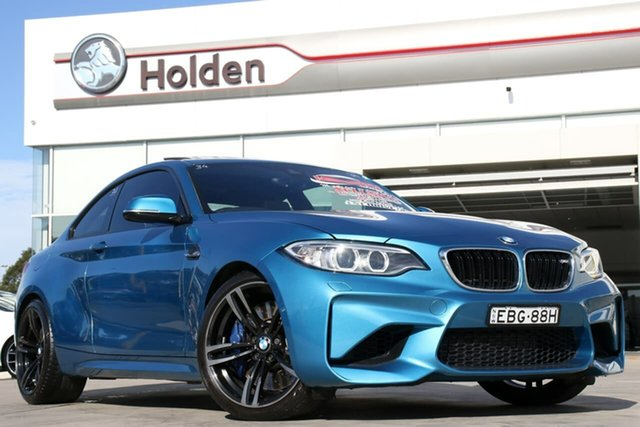 Used BMW M2 F87 D-CT, 2016 BMW M2 F87 D-CT Long Beach Blue 7 Speed Sports Automatic Dual Clutch Coupe