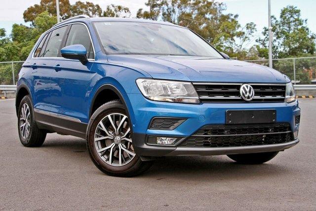 Used Volkswagen Tiguan 5N MY18 132TSI DSG 4MOTION Comfortline, 2018 Volkswagen Tiguan 5N MY18 132TSI DSG 4MOTION Comfortline Blue 7 Speed