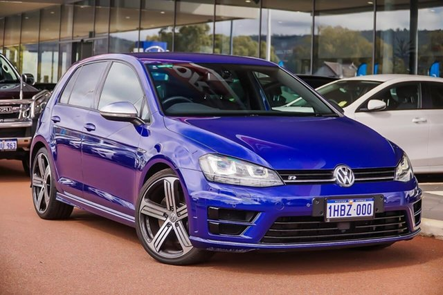 Used Volkswagen Golf VII MY14 R DSG 4MOTION, 2014 Volkswagen Golf VII MY14 R DSG 4MOTION Blue 6 Speed Sports Automatic Dual Clutch Hatchback