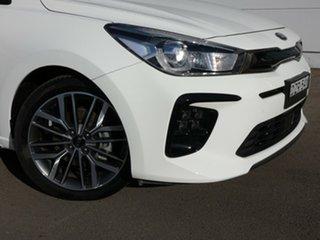 2018 Kia Rio YB MY19 GT-Line DCT White 7 Speed Sports Automatic Dual Clutch Hatchback.