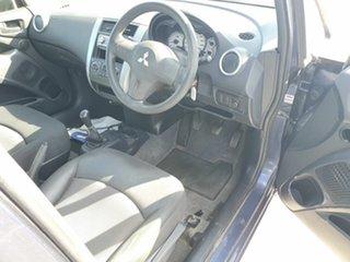 2008 Mitsubishi Colt RG MY08 ES Blue 5 Speed Manual Hatchback.