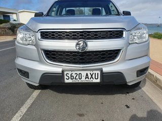 2013 Holden Colorado RG MY13 DX Silver 5 Speed Manual Cab Chassis