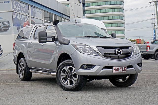 Used Mazda BT-50 UP0YF1 XTR 4x2 Hi-Rider, 2015 Mazda BT-50 UP0YF1 XTR 4x2 Hi-Rider Silver 6 Speed Sports Automatic Utility