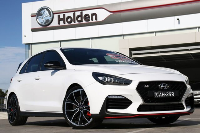 Used Hyundai i30 PDe MY18 N Performance, 2018 Hyundai i30 PDe MY18 N Performance Polar White 6 Speed Manual Hatchback