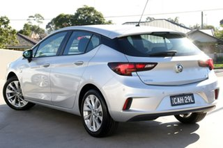 2018 Holden Astra BK MY18.5 R+ Silver 6 Speed Sports Automatic Hatchback.