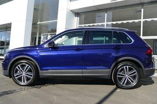 2019 Volkswagen Tiguan 5N MY19.5 162TSI DSG 4MOTION Highline Blue 7 Speed