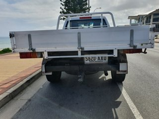 2013 Holden Colorado RG MY13 DX Silver 5 Speed Manual Cab Chassis.