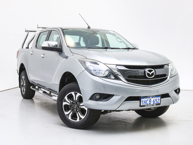 Used Mazda BT-50 MY16 GT (4x4), 2016 Mazda BT-50 MY16 GT (4x4) Silver 6 Speed Manual Dual Cab Utility