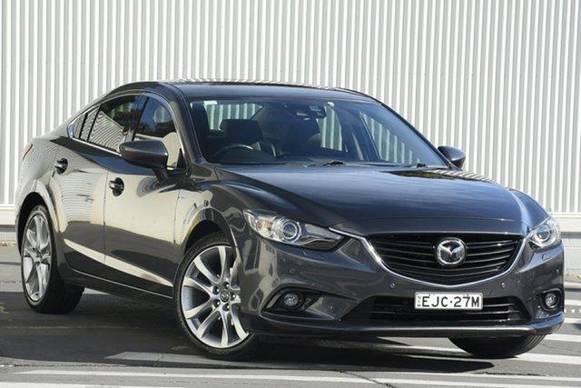 Used Mazda 6 GJ1031 MY14 Atenza SKYACTIV-Drive, 2014 Mazda 6 GJ1031 MY14 Atenza SKYACTIV-Drive Grey 6 Speed Sports Automatic Sedan