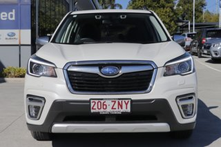 2019 Subaru Forester S5 MY20 Hybrid S CVT AWD White Crystal 7 Speed Constant Variable Wagon Hybrid