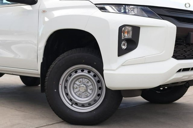 Demo Mitsubishi Triton MR MY20 GLX Double Cab ADAS, 2020 Mitsubishi Triton MR MY20 GLX Double Cab ADAS White 6 Speed Sports Automatic Utility