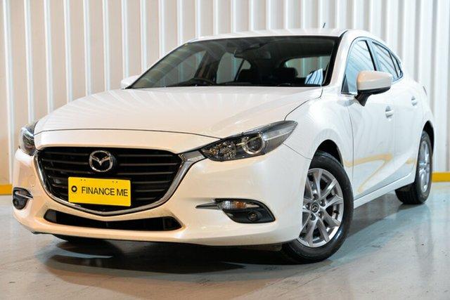 Used Mazda 3 BN5276 Touring SKYACTIV-MT, 2017 Mazda 3 BN5276 Touring SKYACTIV-MT White 6 Speed Manual Sedan