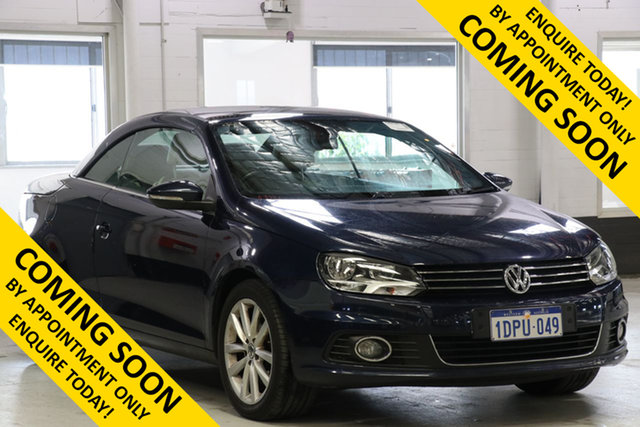 Used Volkswagen EOS 1F MY12 155 TSI, 2012 Volkswagen EOS 1F MY12 155 TSI Blue 6 Speed Direct Shift Convertible
