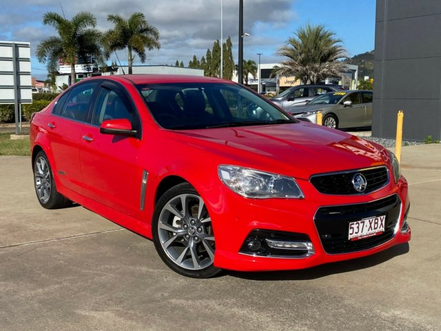 Used Holden Commodore VF MY14 SS V Redline, 2014 Holden Commodore VF MY14 SS V Redline Red 6 Speed Manual Sedan