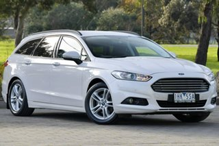 2016 Ford Mondeo MD Ambiente SelectShift White 6 Speed Sports Automatic Wagon.
