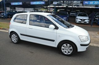 2005 Hyundai Getz TB GL White 5 Speed Manual Hatchback.