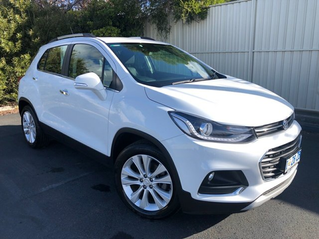 Used Holden Trax TJ MY19 LTZ, 2019 Holden Trax TJ MY19 LTZ Summit White 6 Speed Automatic Wagon