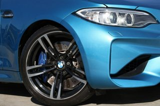 2016 BMW M2 F87 D-CT Long Beach Blue 7 Speed Sports Automatic Dual Clutch Coupe