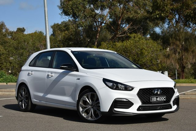 New Hyundai i30 PD.3 MY20 N Line D-CT, 2020 Hyundai i30 PD.3 MY20 N Line D-CT Polar White 7 Speed Sports Automatic Dual Clutch Hatchback