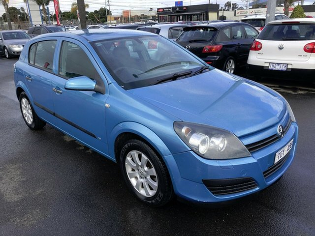 Used Holden Astra AH MY05 CDXi, 2005 Holden Astra AH MY05 CDXi Blue 4 Speed Automatic Hatchback