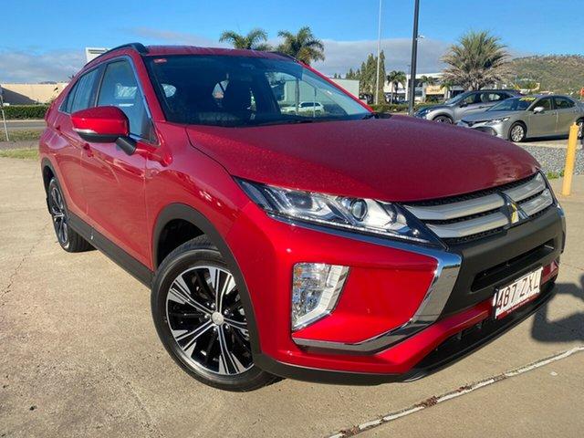 Used Mitsubishi Eclipse Cross YA MY20 ES 2WD, 2020 Mitsubishi Eclipse Cross YA MY20 ES 2WD Red 8 Speed Constant Variable Wagon