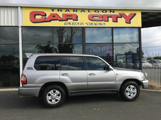 Used Toyota Landcruiser UZJ100R Upgrade Sahara (4x4), 2006 Toyota Landcruiser UZJ100R Upgrade Sahara (4x4) Silver 5 Speed Automatic Wagon