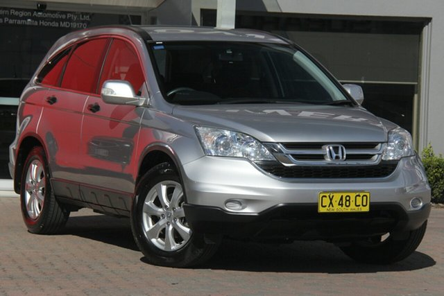 Used Honda CR-V RE MY2011 Luxury 4WD, 2012 Honda CR-V RE MY2011 Luxury 4WD Silver 5 Speed Automatic Wagon