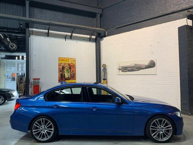 Used BMW 320i F30 MY1112 , 2013 BMW 320i F30 MY1112 Blue 8 Speed Sports Automatic Sedan