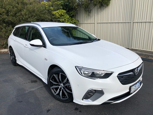 Used Holden Commodore ZB MY18 RS Sportwagon, 2018 Holden Commodore ZB MY18 RS Sportwagon Summit White 9 Speed Sports Automatic Wagon