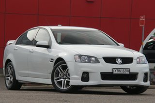 2012 Holden Commodore VE II MY12 SV6 White 6 Speed Sports Automatic Sedan.