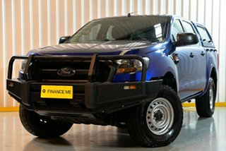 2016 Ford Ranger PX MkII XL Blue 6 Speed Sports Automatic Utility.