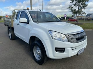 2015 Isuzu D-MAX MY15 SX Space Cab 4x2 High Ride White 5 Speed Sports Automatic Utility.