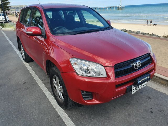 Used Toyota RAV4 ACA33R MY09 CV Morphett Vale, 2009 Toyota RAV4 ACA33R MY09 CV Red Diamond 4 Speed Automatic Wagon