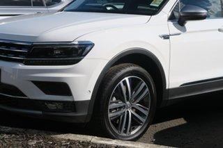 2020 Volkswagen Tiguan 5N MY20 162TSI Highline DSG 4MOTION Allspace White 7 Speed.