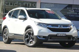 2019 Honda CR-V MY20 VTi-L7 (2WD) White Continuous Variable Wagon.