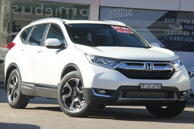 Used Honda CR-V MY20 VTi-L7 (2WD), 2019 Honda CR-V MY20 VTi-L7 (2WD) White Continuous Variable Wagon