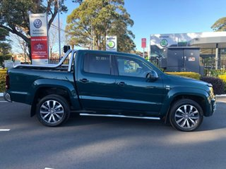 2019 Volkswagen Amarok 2H MY19 TDI580 4MOTION Perm Ultimate Green 8 Speed Automatic Utility.