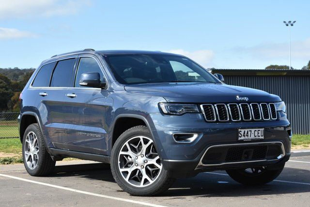 Used Jeep Grand Cherokee WK MY19 Limited, 2019 Jeep Grand Cherokee WK MY19 Limited Blue 8 Speed Sports Automatic Wagon