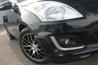 2014 Suzuki Swift FZ MY14 GL Navigator Black 4 Speed Automatic Hatchback.