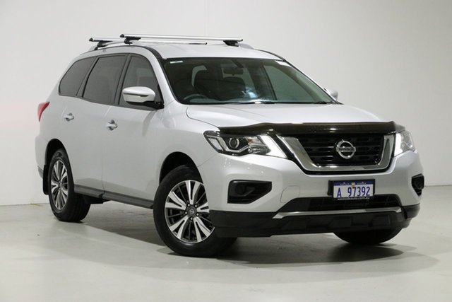 Used Nissan Pathfinder R52 MY17 Series 2 ST (4x2), 2017 Nissan Pathfinder R52 MY17 Series 2 ST (4x2) Silver Continuous Variable Wagon