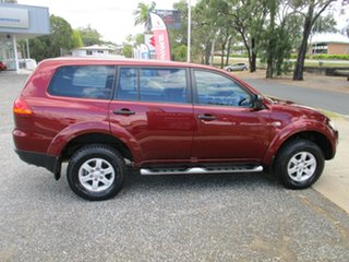 2012 Mitsubishi Challenger PB (KG) MY12 Red 5 Speed Sports Automatic Wagon.