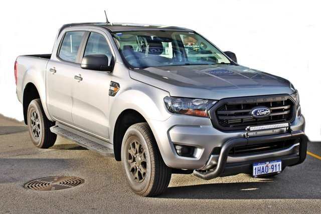Demo Ford Ranger PX MkIII 2020.25MY XL Pick-up Double Cab, 2020 Ford Ranger PX MkIII 2020.25MY XL Pick-up Double Cab Silver 6 Speed Sports Automatic Utility