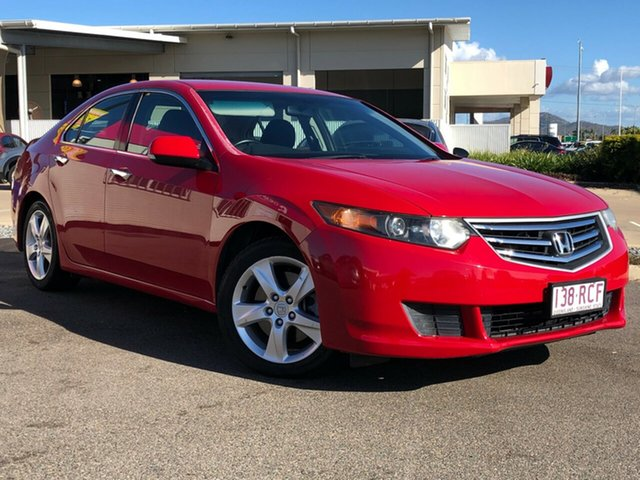 Used Honda Accord Euro CU MY10 , 2010 Honda Accord Euro CU MY10 Red 6 Speed Manual Sedan