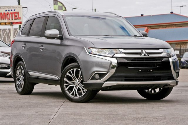 Used Mitsubishi Outlander ZK MY16 XLS 2WD, 2016 Mitsubishi Outlander ZK MY16 XLS 2WD Silver 6 Speed Constant Variable Wagon