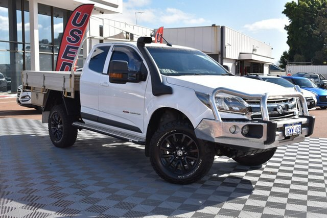 Used Holden Colorado RG MY19 LS Space Cab, 2019 Holden Colorado RG MY19 LS Space Cab White 6 Speed Sports Automatic Cab Chassis