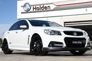2014 Holden Commodore VF MY14 SS V Redline White 6 Speed Sports Automatic Sedan.