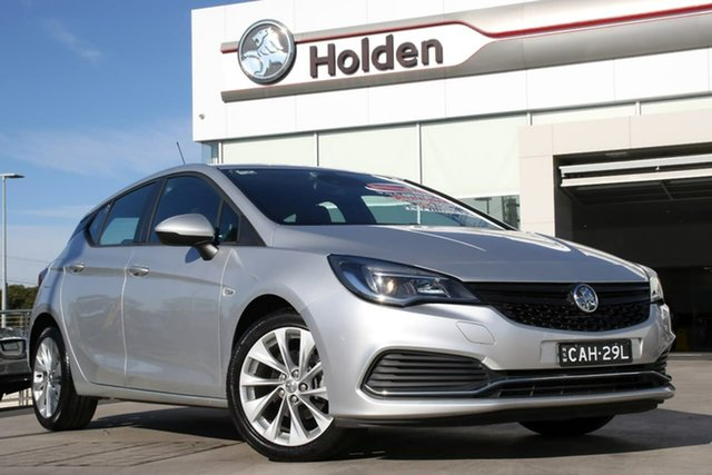 Used Holden Astra BK MY18.5 R+, 2018 Holden Astra BK MY18.5 R+ Silver 6 Speed Sports Automatic Hatchback