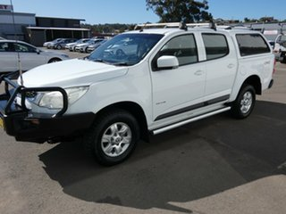 2012 Holden Colorado RG MY13 LT Crew Cab White 5 Speed Manual Utility
