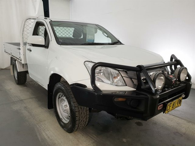 Used Isuzu D-MAX MY15 SX, 2015 Isuzu D-MAX MY15 SX White 5 Speed Sports Automatic Cab Chassis